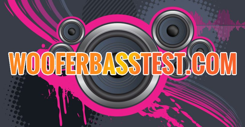 Woofer And Bass Test Play And Download Sound Test
